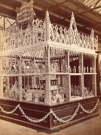 Crandall's Building Blocks on Display at the Centennial Exposition, 1876