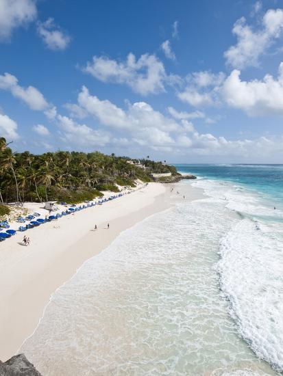 Crane Beach at Crane Beach Resort, Barbados, Windward Islands, West Indies, Caribbean-Michael DeFreitas-Photographic Print
