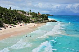 Crane Beach, St. Philip, Barbados, Caribbean
