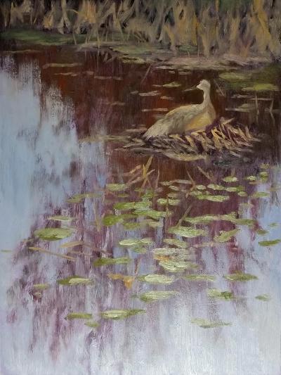 Crane-Rusty Frentner-Giclee Print