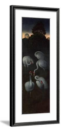 Cranes (The Reverse of a Panel from a Triptyc), C. 1480-Hans Memling-Framed Giclee Print