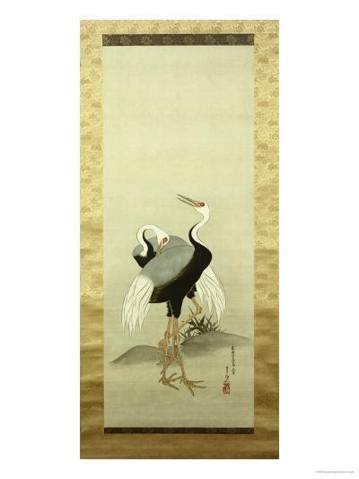 Cranes-Suzuki Kiitsu-Giclee Print