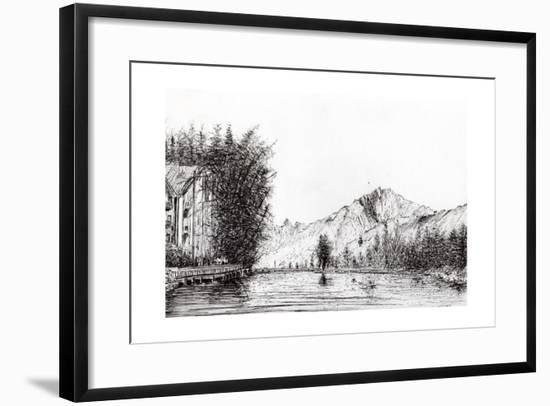Crans, Switzerland, 2009-Vincent Alexander Booth-Framed Giclee Print