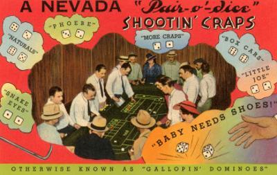 Craps Lesson, Nevada