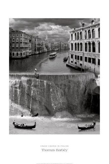 Crash Course in Italian-Thomas Barbey-Art Print