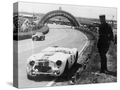Crashed Cunningham C2-R, Le Mans, France, 1951