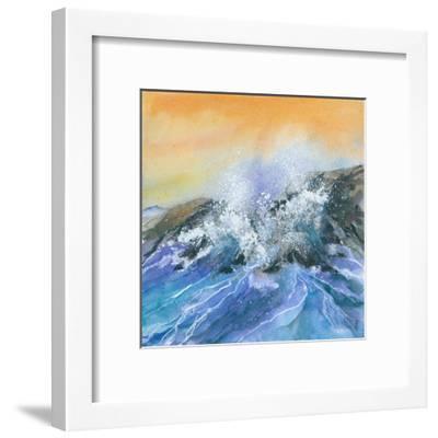 Crashing Surf-Rachel McNaughton-Framed Art Print