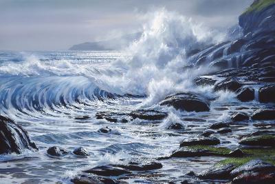 Crashing Wave-Raymond Sipos-Giclee Print