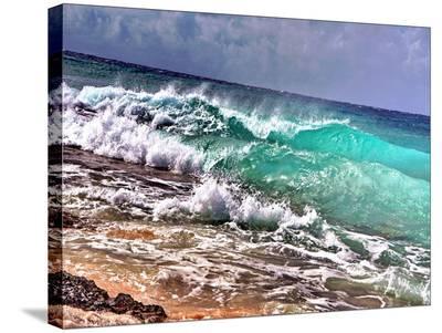 Crashing Waves 1-Tatiana Lopatina-Stretched Canvas Print