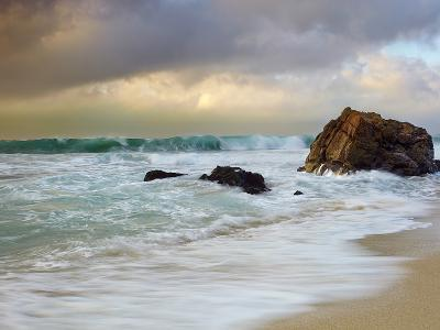 Crashing Waves, Garrapata State Park, Big Sur, California, USA-Patrick Smith-Photographic Print