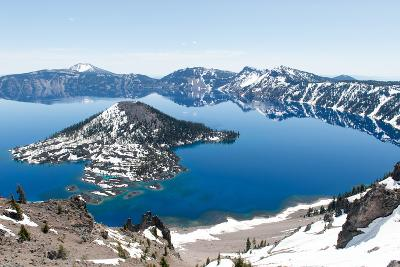 Crater Lake National Park, Oregon-demerzel21-Photographic Print