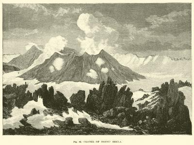 Crater of Mount Hekla--Giclee Print