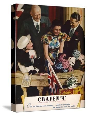 Craven a Cork-Tipped Virginia Cigarettes, 1937