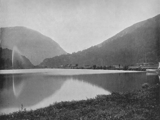 'Crawford Notch, in the White Mountains', 19th century-Unknown-Photographic Print