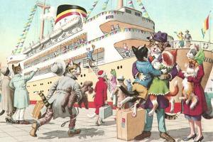 Crazy Cats Going on Cruise
