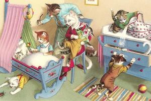 Crazy Cats in the Nursery