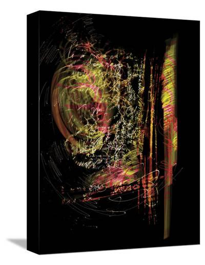 Crazy Letter-Carolina Pecora-Stretched Canvas Print