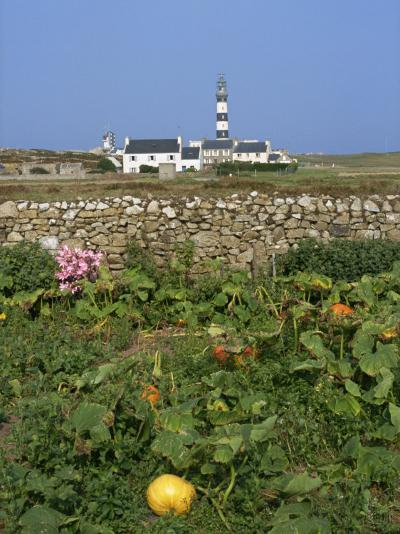 Creac'H Lighthouse, Ouessant Island, Finistere, Brittany, France, Europe-Thouvenin Guy-Photographic Print