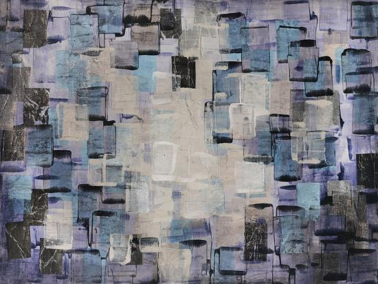 Cream and Aqua Tiles Giclee Print by Alexys Henry | Art com