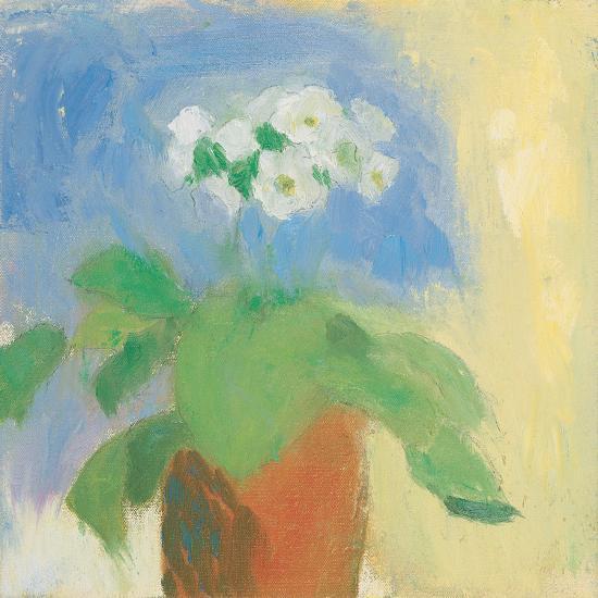 Cream Primula-Michael Clark-Art Print
