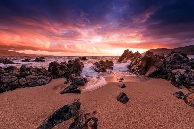 Creamsicle Sunset-Philippe Sainte-Laudy-Photographic Print
