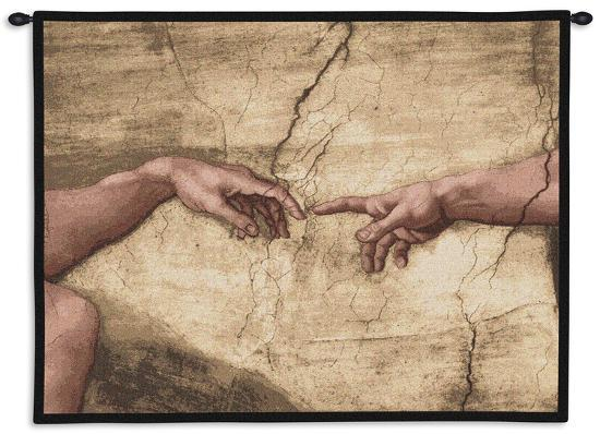 creation of adam wall tapestry by michelangelo buonarroti art com