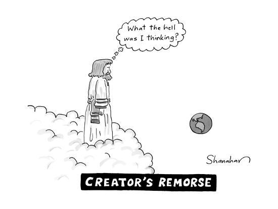 Creator's Remorse - New Yorker Cartoon--Premium Giclee Print