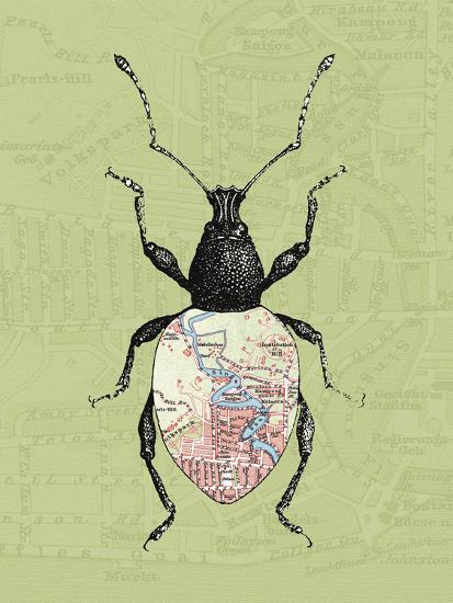 Creature Cartography VI-The Vintage Collection-Giclee Print