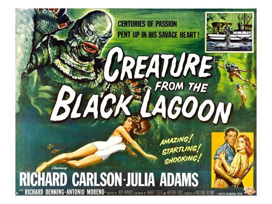 Creature from the Black Lagoon, 1954--Photo