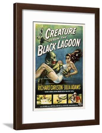 Creature from the Black Lagoon, 1954--Framed Giclee Print