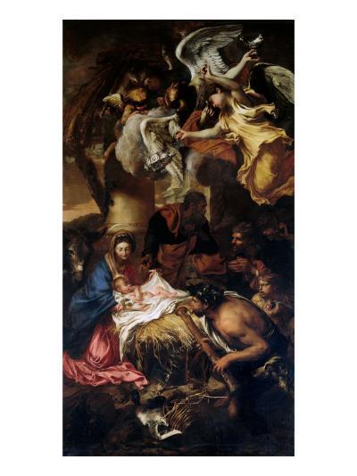 Creche, 1645-Giovanni Benedetto Castiglione-Giclee Print