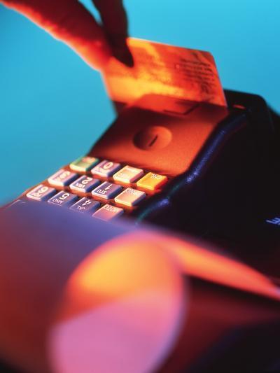 Credit Card-Tek Image-Photographic Print