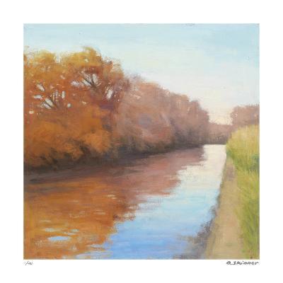 Creekside Stroll-David Skinner-Giclee Print