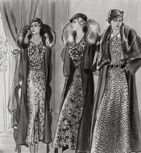 Vogue - March 1933 by Creelman