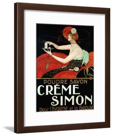 Creme Simon, ca. 1925-Vila-Framed Art Print
