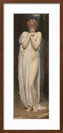 Greeting Card Frederic Lord Leighton: Crenaia the Nymph of the Dargle 1880
