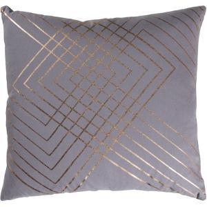 Crescendo Pillow Cover - Pewter