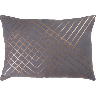 Crescendo Poly Fill Pillow - Pewter