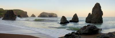 Crescent Beach pano #1-Alan Blaustein-Photographic Print