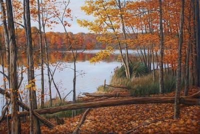 Crescent Lake-Bruce Dumas-Giclee Print
