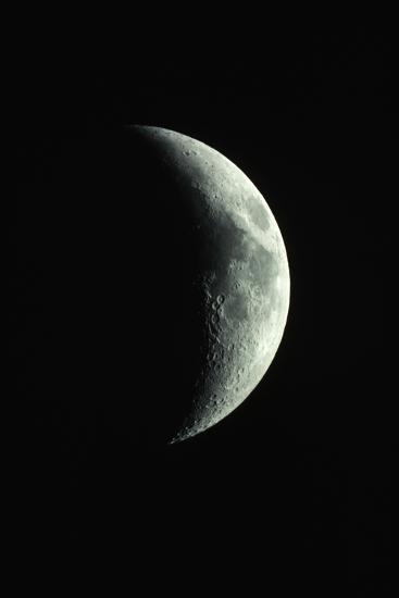 Crescent Moon-Roger Ressmeyer-Photographic Print