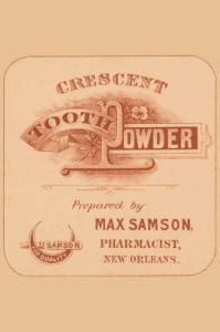 Crescent Tooh Powder