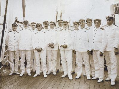 Crew of RMS Olympic--Photographic Print