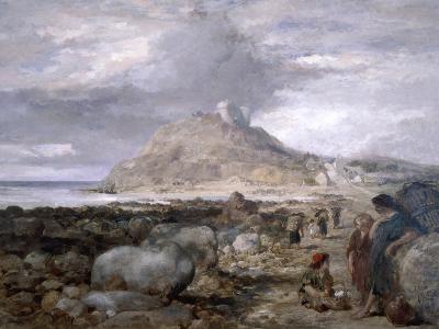 Criccieth Castle, Wales, 1878-John Gilbert-Giclee Print