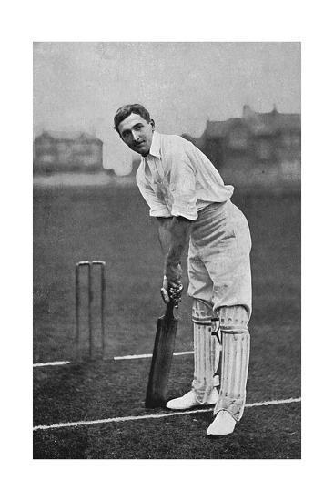 Cricket Charles Burgess Fry-E. Hawkins-Giclee Print