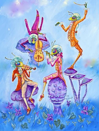 Cricket Concert-Judy Mastrangelo-Giclee Print