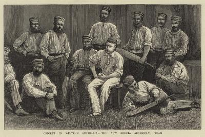 Cricket in Western Australia, the New Norcia Aboriginal Team--Giclee Print