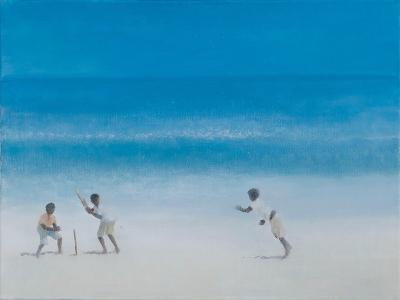 Cricket on the Beach, 2012-Lincoln Seligman-Giclee Print