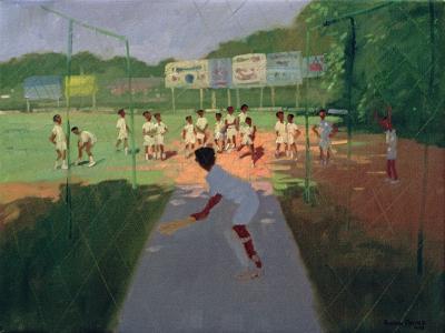 Cricket, Sri Lanka-Andrew Macara-Giclee Print