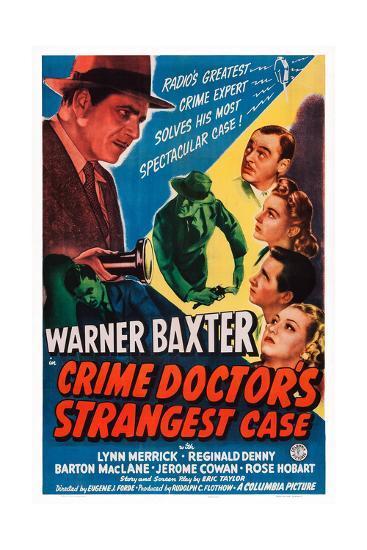 Crime Doctor's Strangest Case--Giclee Print